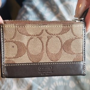 Coach change purse